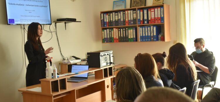 Održan trening na temu slobode okupljanja za organizacije civilnog društva iz Nikšića